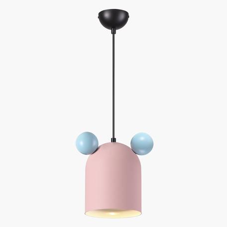 Подвесной светильник Odeon Light Kids Mickey 4731/1, 1xGU10x5W, черный, розовый, разноцветный, металл