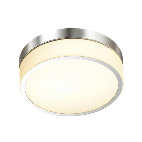 Потолочный светодиодный светильник Odeon Light Drops Rima 4680/18CL, IP44, LED 18W 3000K 720lm, хром, стекло