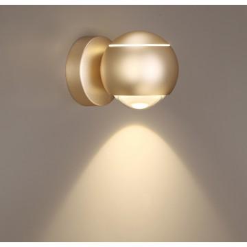 Настенный светодиодный светильник с регулировкой направления света Odeon Light Elon 3915/9WL 4000K (дневной) - миниатюра 4