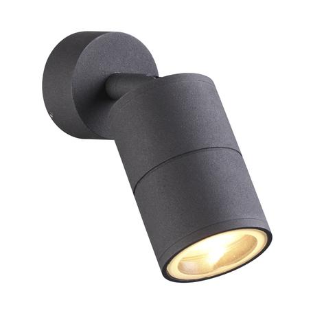 Настенный светильник с регулировкой направления света Odeon Light Corsus 4207/1C, IP54, 1xGU10x50W, черный, металл
