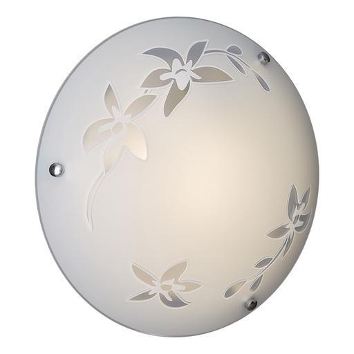 Потолочный светильник Sonex Romana 2214, 2xE27x60W, хром, матовый, прозрачный, металл, стекло - фото 3