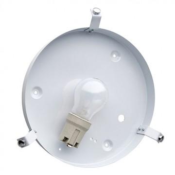 Потолочный светильник Sonex Romana 2214, 2xE27x60W, хром, матовый, прозрачный, металл, стекло - миниатюра 7