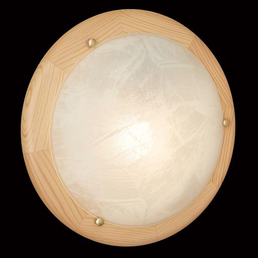 Потолочный светильник Sonex Alabastro 272, 2xE27x60W, коричневый, белый, дерево, стекло - фото 5