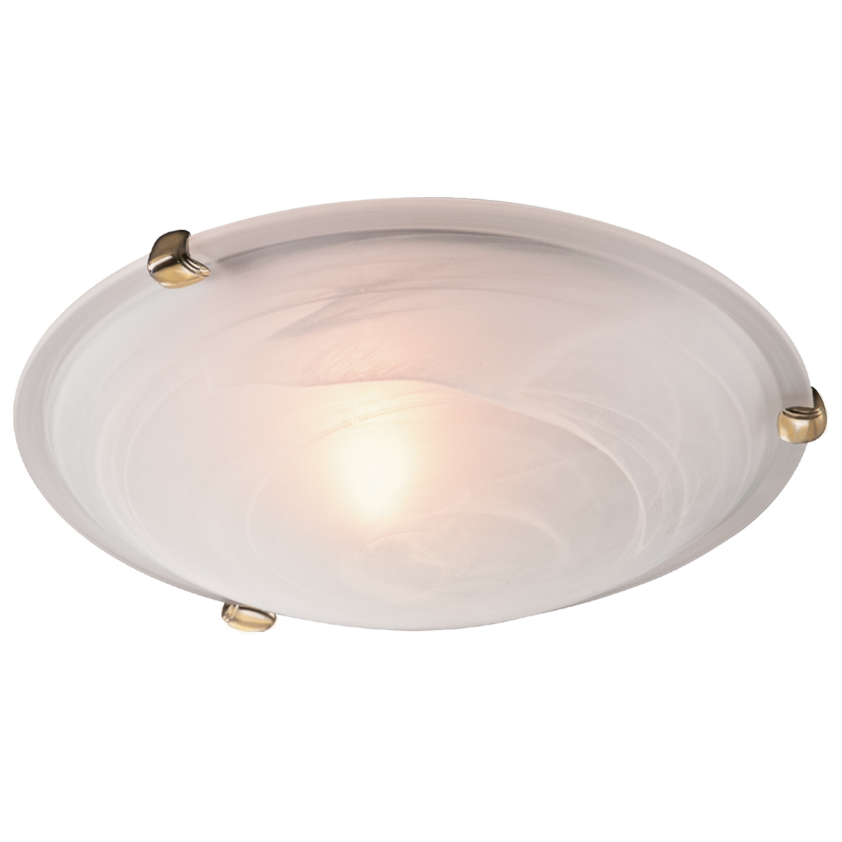 Потолочный светильник Sonex Duna 353 золото, 3xE27x100W, золото, белый, металл, стекло - фото 1