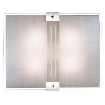 Потолочный светильник Sonex Deco 4110, 4xE27x60W, синий, хром, матовый, прозрачный, металл, стекло