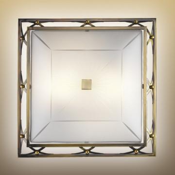 Потолочный светильник Sonex Villa 4261, 4xE27x60W, бронза, матовый, прозрачный, металл, стекло - миниатюра 2