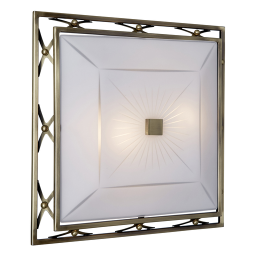 Потолочный светильник Sonex Villa 4261, 4xE27x60W, бронза, матовый, прозрачный, металл, стекло - фото 3