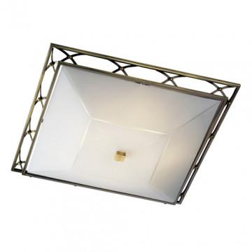 Потолочный светильник Sonex Villa 4261, 4xE27x60W, бронза, матовый, прозрачный, металл, стекло - миниатюра 4