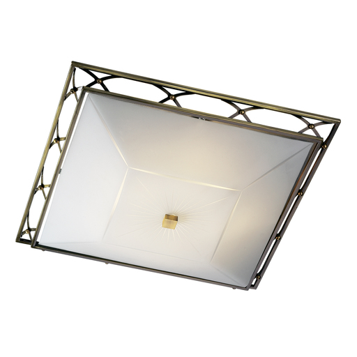 Потолочный светильник Sonex Villa 4261, 4xE27x60W, бронза, матовый, прозрачный, металл, стекло - фото 4