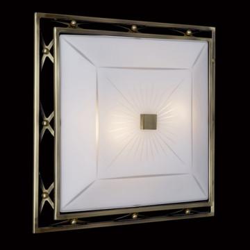 Потолочный светильник Sonex Villa 4261, 4xE27x60W, бронза, матовый, прозрачный, металл, стекло - миниатюра 5