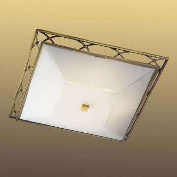 Потолочный светильник Sonex Villa 4261, 4xE27x60W, бронза, матовый, прозрачный, металл, стекло - миниатюра 6