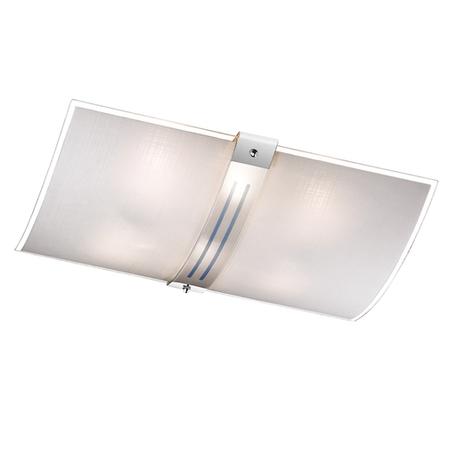 Потолочный светильник Sonex Deco 6210, 6xE27x60W, синий, хром, матовый, прозрачный, металл, стекло