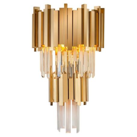 Настенный светильник L'Arte Luce Luxury Empire L34023, 3xE14x40W, металл, хрусталь