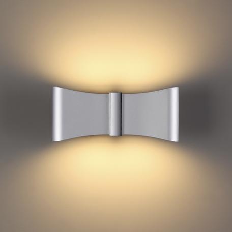 Настенный светодиодный светильник Odeon Light Hightech Motion 4215/12WL, LED 12W 3000K 526lm, серебро, металл