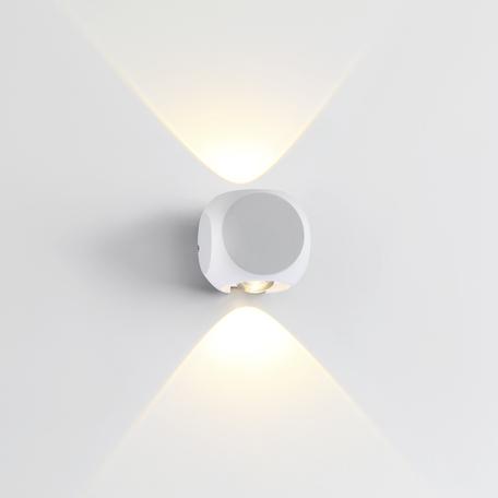 Настенный светодиодный светильник Odeon Light Hightech Miko 4221/4WL, IP54, LED 8W 3200K 366lm, белый, металл