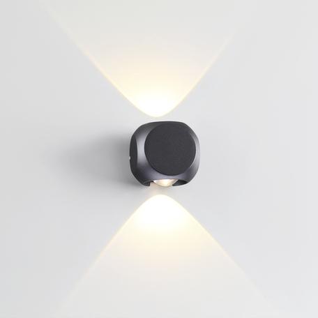 Настенный светодиодный светильник Odeon Light Hightech Miko 4222/4WL, IP54, LED 8W 3200K 350lm, черный, металл