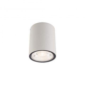 Потолочный светодиодный светильник Nowodvorski Edesa LED 9108, IP54, LED 6W 3000K 370lm, белый, металл
