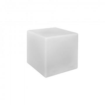 Садовый светильник Nowodvorski Cumulus Cube 8965, IP44, 1xE27x60W, белый, пластик