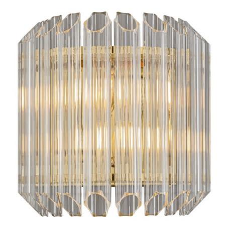 Настенный светильник L'Arte Luce Luxury Retro Murano L37426, 2xE14x60W, металл, стекло