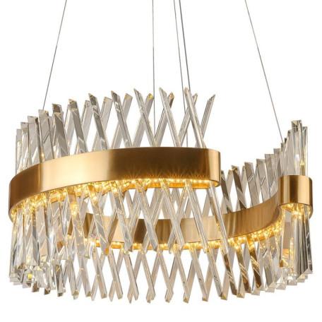 Подвесной светодиодный светильник L'Arte Luce Luxury Recinto L45806, LED 60W, металл, хрусталь
