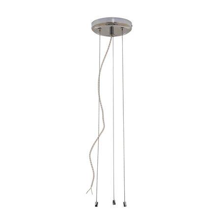 Набор для подвесного монтажа светильника Citilux Старлайт CL703011, хром, металл