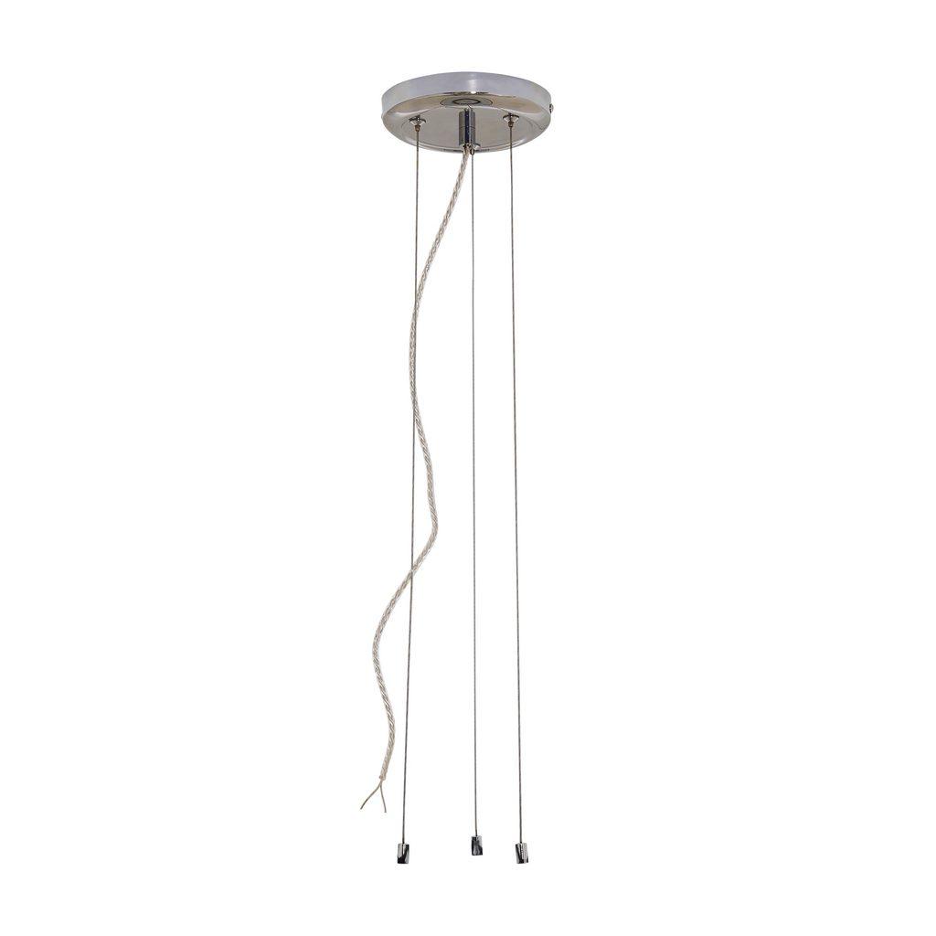 Набор для подвесного монтажа светильника Citilux Старлайт CL703011, хром, металл - фото 1
