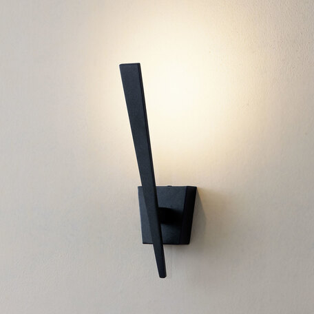 Настенный светодиодный светильник Citilux Декарт-1 CL704011, LED 5W 3000K 375lm, черный, металл