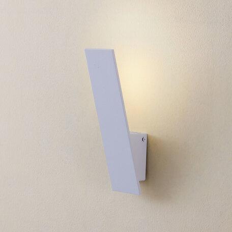 Настенный светодиодный светильник Citilux Декарт-2 CL704020, LED 6W 3000K 450lm, белый, металл - миниатюра 1