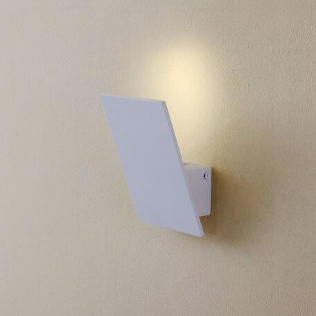 Настенный светодиодный светильник Citilux Декарт-3 CL704030, LED 10W 3000K 750lm, белый, металл