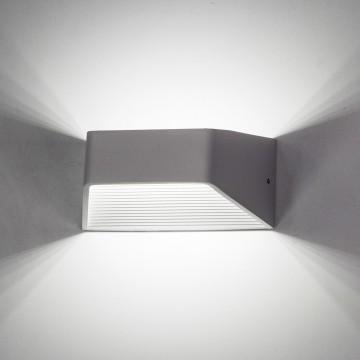 Настенный светодиодный светильник Citilux Декарт CL704310, LED 6W 3000K 450lm, белый, металл - миниатюра 2