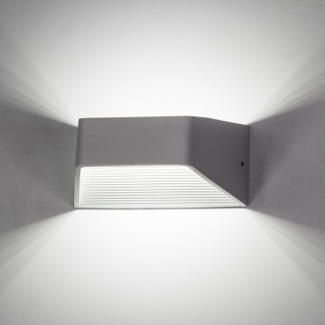 Настенный светодиодный светильник Citilux Декарт CL704310, LED 6W 3000K 450lm, белый, металл - миниатюра 6