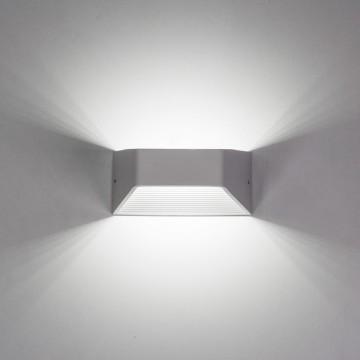 Настенный светодиодный светильник Citilux Декарт CL704310, LED 6W 3000K 450lm, белый, металл - миниатюра 7