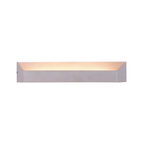 Настенный светодиодный светильник Citilux Декарт CL704330, LED 12W 3000K 900lm, белый, металл