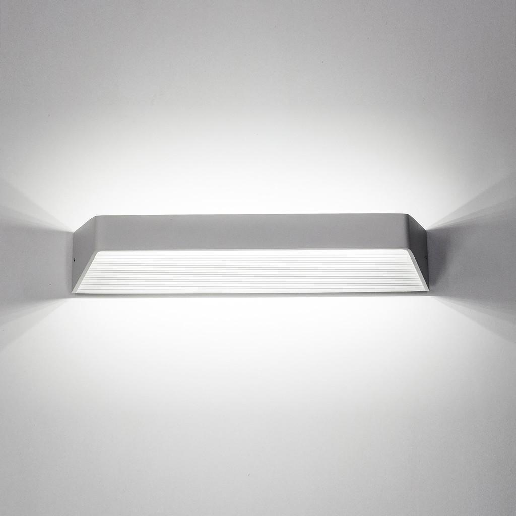 Настенный светодиодный светильник Citilux Декарт CL704330 3000K (теплый), белый, металл - фото 2