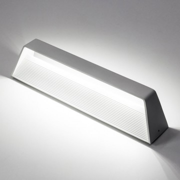 Настенный светодиодный светильник Citilux Декарт CL704330 3000K (теплый), белый, металл - миниатюра 3
