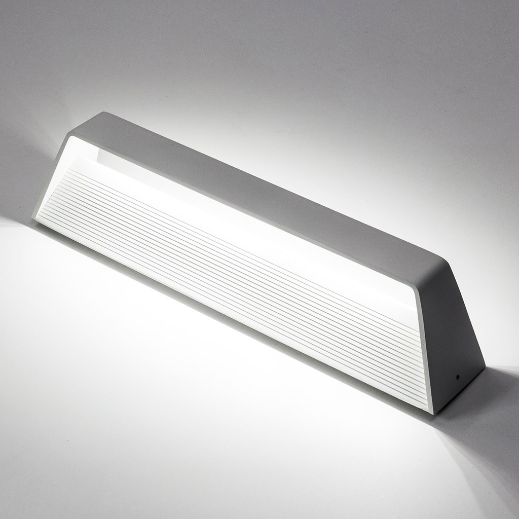 Настенный светодиодный светильник Citilux Декарт CL704330 3000K (теплый), белый, металл - фото 3