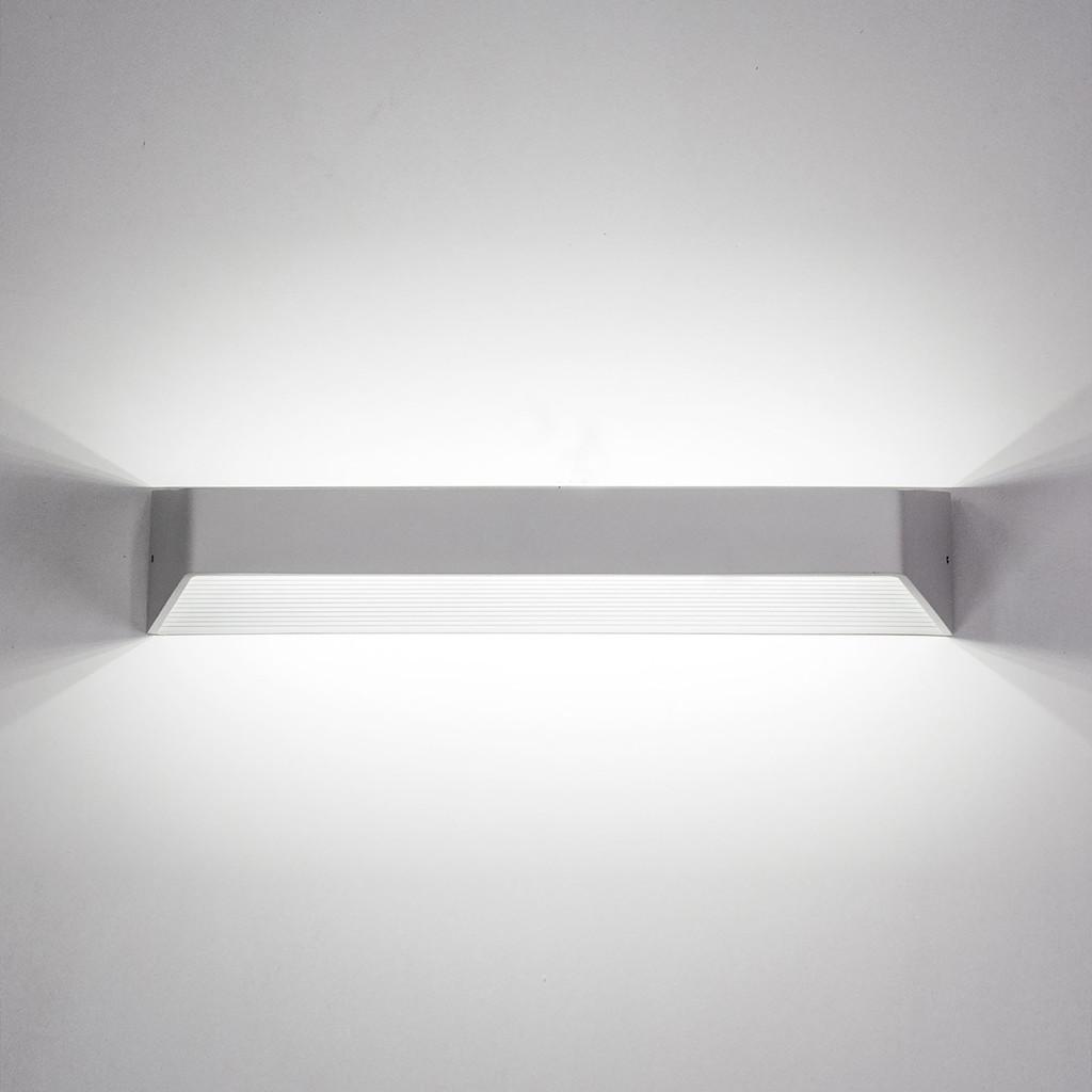 Настенный светодиодный светильник Citilux Декарт CL704330 3000K (теплый), белый, металл - фото 5