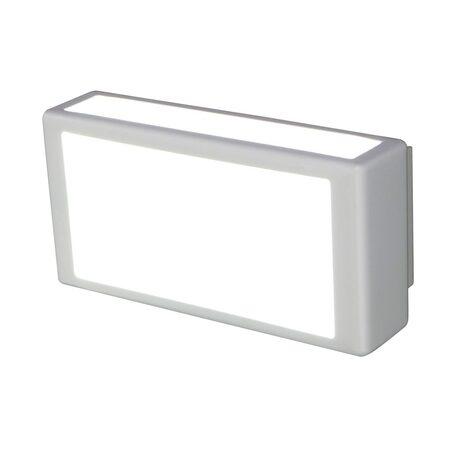 Настенный светодиодный светильник Citilux Синто CL711015, LED 15W 3000K 975lm, белый, металл, металл с пластиком