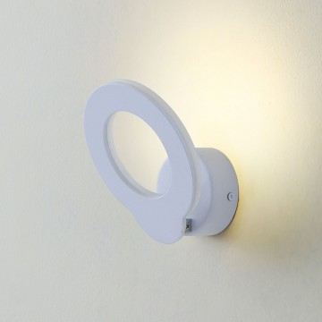 Настенный светодиодный светильник с регулировкой направления света Citilux Декарт-4 CL704040, LED 9W 3000K 675lm, белый, металл