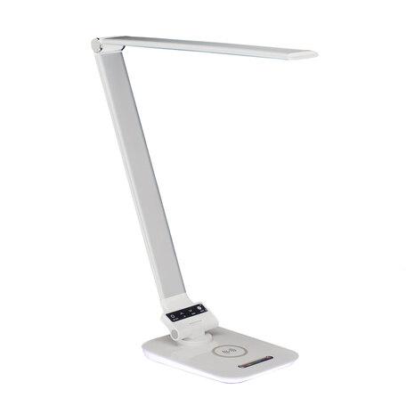 Настольная светодиодная лампа Citilux Ньютон CL803011, LED 6W 3000-5500K + RGB 450lm, белый, пластик, металл с пластиком