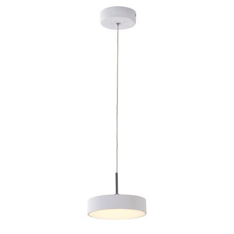 Подвесной светодиодный светильник Citilux Тао CL712S180, LED 18W 3000K 1350lm, белый, металл, металл с пластиком