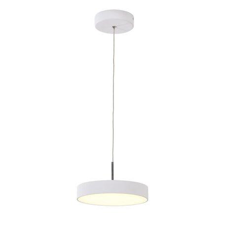 Подвесной светодиодный светильник Citilux Тао CL712S240, LED 24W 3000K 1800lm, белый, металл, металл с пластиком