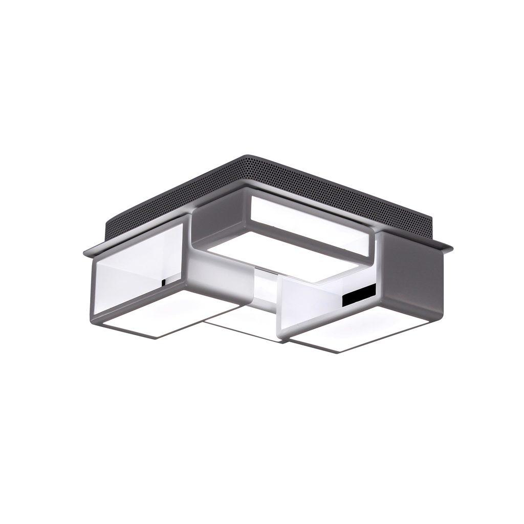 Потолочная светодиодная люстра Citilux Синто CL711060, LED 60W, 3000K (теплый), белый, металл, пластик - фото 1