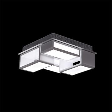 Потолочная светодиодная люстра Citilux Синто CL711060, LED 60W, 3000K (теплый), белый, металл, пластик - миниатюра 2