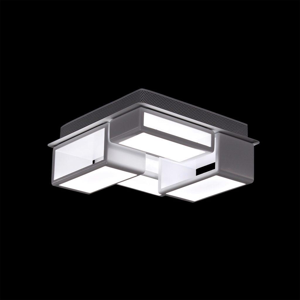 Потолочная светодиодная люстра Citilux Синто CL711060, LED 60W, 3000K (теплый), белый, металл, пластик - фото 2