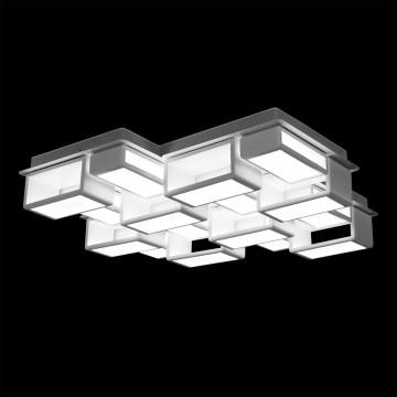 Потолочная светодиодная люстра Citilux Синто CL711240, LED 240W 3000K 18000lm, белый, металл, металл с пластиком - миниатюра 2
