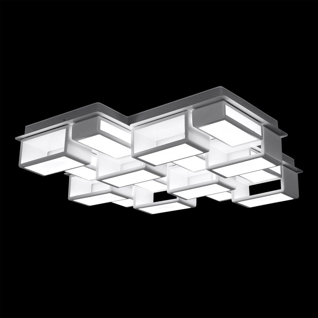 Потолочная светодиодная люстра Citilux Синто CL711240, LED 240W 3000K 18000lm, белый, металл, металл с пластиком - фото 2