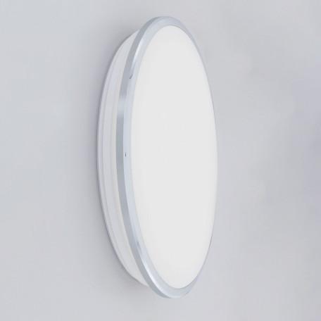 Потолочный светодиодный светильник Citilux Луна CL702301N, IP54, LED 30W 4000K 2200lm, хром, металл с пластиком - миниатюра 2