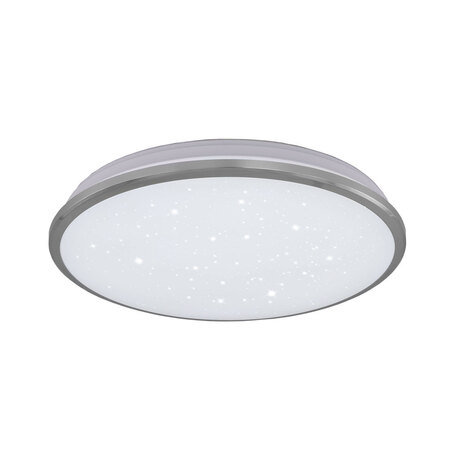 Потолочный светодиодный светильник Citilux Луна CL702301W, IP54, LED 30W 3000K 2200lm, хром, металл с пластиком