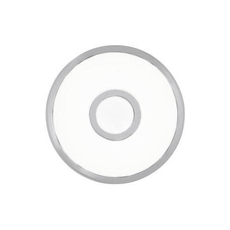 Потолочный светодиодный светильник Citilux Старлайт CL70310, IP44, LED 12W 3000K 800lm, белый, хром, металл, металл с пластиком